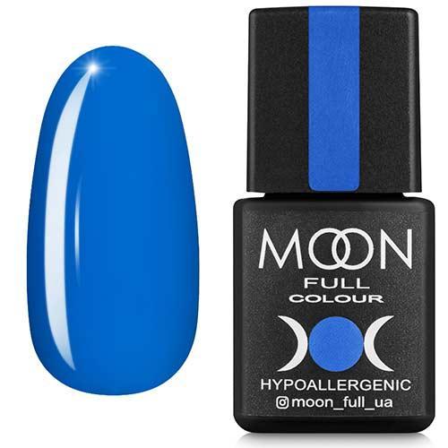 Гель-лак MOON FULL №182 блакитний, 8мл.