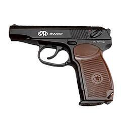 Пістолет пневматичний SAS Макаров ПМ Blowback (4,5 мм)
