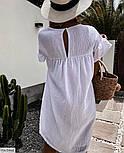 Жіноче літнє плаття з льону, фото 8