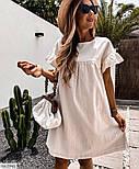 Жіноче літнє плаття з льону, фото 3