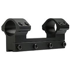 """Кріплення-моноблок на зброю Beeman FTMA086L (1"""", 11мм), низьке кріплення"""
