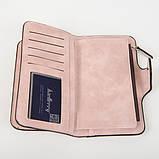 Жіночий клатч Baellerry, жіночий гаманець ПУДРА, фото 8