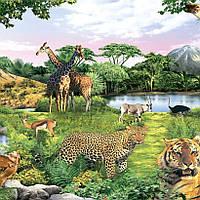 Фотообои, зверы, природа, Оазис Доверия, 18 листов, 210х290см, фото 1