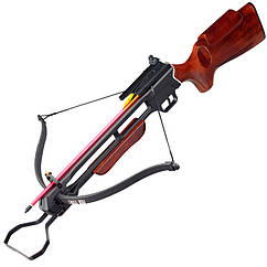 Арбалет винтовочного типа Man Kung 200A2 (длина: 890мм, сила натяжения: 18кг), комплект, коричневый