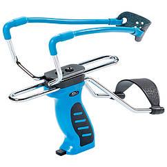 Рогатка з упором Man Kung SL06BL, синя