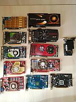 13 шт НЕ исправных видеокарт PCI-E одним лотом