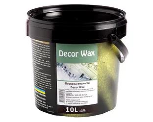 Decor Wax - защитный воск для декоративных покрытий 10л