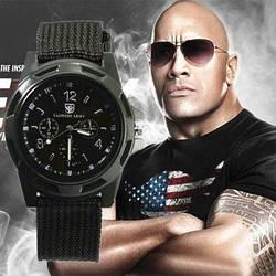 Спортивні годинник Gemius Army Чорні наручні NEW Брендові Чоловічі годинник на руку Кварцові СПОРТ