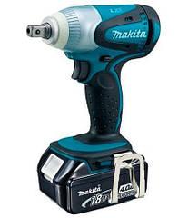 Аккумуляторный ударный гайковерт Makita DTW251RMJ + 2 акб 18 V 4 Ah + з у + MakPac, КОД: 2367433