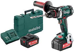 Аккумуляторный шуруповерт Metabo BS 18 LTX Impuls + 2 акб 18 V 4 Ah + з у + кейс 602191500, КОД: 2368451