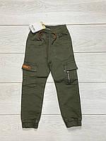 Катоновые брюки для мальчиков. 4 года.