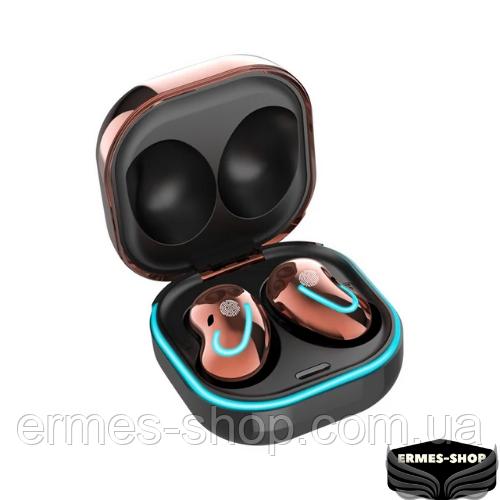 Бездротові bluetooth-навушники S6SE з кейсом