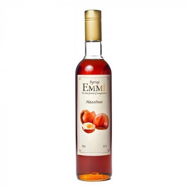 Сироп Эмми (Емми) Лесной орех 700 мл (900 грамм) (Syrup Emmi Hazelnut 0.7)