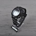 Часы электронные, спортивные Skmei 1126, черные, с солнечной панелью, в металлическом боксе, фото 2