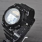 Часы электронные, спортивные Skmei 1126, черные, с солнечной панелью, в металлическом боксе, фото 4