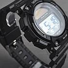 Часы электронные, спортивные Skmei 1126, черные, с солнечной панелью, в металлическом боксе, фото 5