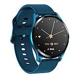 Смарт розумні годинник Smart Watch ZX-02 жіночі з датчиком пульсу і тиску сенсорні наручний годинник фітнес-трекер, фото 2