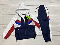 Спортивный костюм для мальчиков. (Плащевка, подкладка- сетка). 4- 12 лет.