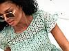 Молодёжное очаровательное воздушное платье А-силуэта из батиста и прошвы 42, 44, 46, фото 5