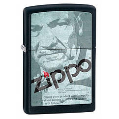 Зажигалка Zippo Depot Logo, 28300