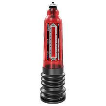 Гидронасос для увеличения пениса Bathmate (Басмейт) Hydro 7 красный для члена 12.5-17.5 см - Бесплатная
