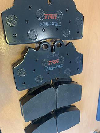 Колодки тормознные IVECO EUROCARGO, фото 2