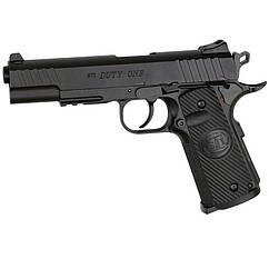Пістолет пневматичний ASG STI Duty One Blowback (4,5 mm), чорний