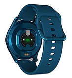 Смарт розумні годинник Smart Watch ZX-02 жіночі з датчиком пульсу і тиску сенсорні наручний годинник фітнес-трекер, фото 3