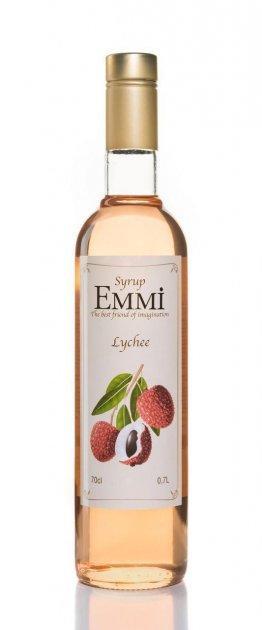 Сироп Эмми (Емми) Личи 700 мл (900 грамм) (Syrup Emmi Lychee 0.7)
