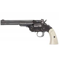 "Пневматичний Револьвер ASG Schofield BB (6"", 4,5 mm), чорний пластик"