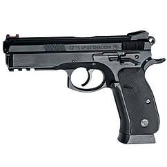 Пистолет пневматический ASG CZ SP-01 Shadow Blowback (4,5mm), черный