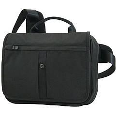 Сумка на плечо с отд. для iPad Victorinox Travel Accessories 4.0 (5л, 28x23x8cм), черная 311744.01