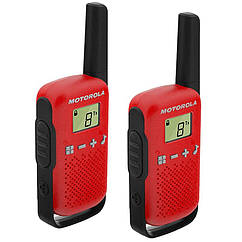 Рация Motorola  Talkabout T42 TWIN PACK, красная