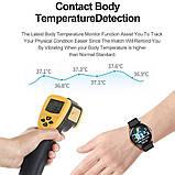 Смарт часы умные Smart Watch T88 с датчиком пульса и давления сенсорные наручные часы фитнесс-трекер унисекс, фото 7