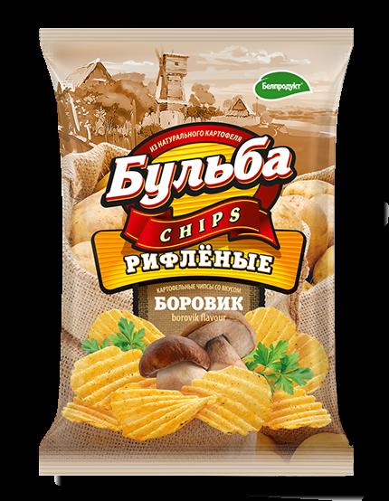 Чіпси з натуральної картоплі Белпродукт,75г