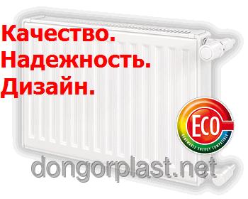 Стальные радиаторы vogel & noot 22 тип, высота 500, боковое подключение