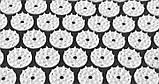 Ортопедичний килимок масажний ЧОРНИЙ Acupressure mat з подушкою, фото 2