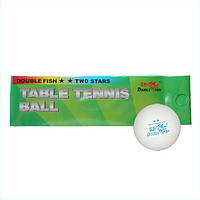 Мячики для настольного тенниса DOUBLE FISH 2-STAR