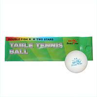 Мячик для настольного тенниса DOUBLE FISH 2-STAR, фото 1