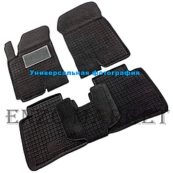 Гибридные коврики в салон Mazda 3 2014- (Avto-Gumm)