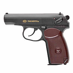 Пистолет пневматический SAS Макаров SE ПМ (4,5мм), пластик