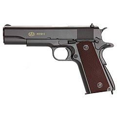 Пистолет пневматический SAS M1911 Pellet (4,5мм)