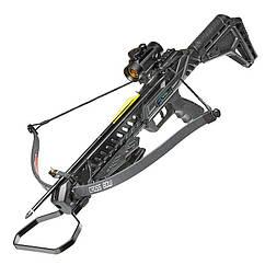 Арбалет пистолетного типа Man Kung MK-XB27BK (длина: 820мм, сила натяжения: 18кг), комплект, черный