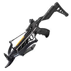 Арбалет пистолетного типа Man Kung MK-TCS2BK (длина: 620мм, сила натяжения: 18кг), черный