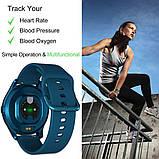 Смарт часы умные Smart Watch T88 с датчиком пульса и давления сенсорные наручные часы фитнесс-трекер унисекс, фото 9