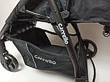 Детская прогулочная коляска - книжка с регулируемой спинкой CARRELLO Maestro CRL-1414 Soft Blue синяя, фото 7