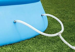 Басейн надувний Intex Easy Set 244х76см 28110 з фільтр-насосом Дитячий сімейний круглий басейн для будинку, фото 3