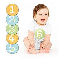 """Подарочный набор наклеек Pearhead """"Первый год"""" (разноцветный)"""