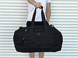 Велика дорожня сумка, чорна (60 л.), фото 2