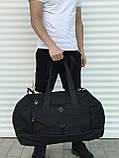Велика дорожня сумка, чорна (60 л.), фото 3